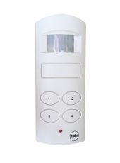 Wireless Shed and Garage Alarm, White
