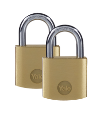 Brass Padlock 30MM (PACK OF 2)