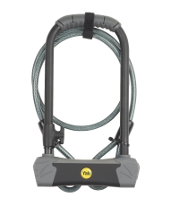 Maximum Security Defendor U Bike Lock with Cable (Sold Secure Gold)