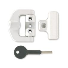 8K123 PVCu Window Lock + Key