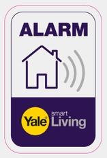 Yale Alarm Window Sticker