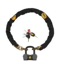 Maximum Security Defendor Chain & Lock 1.8m (Sold Secure Gold)