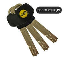 Yale DWS Spare Key YL-CYL-KC3A-03 (Set of 3)