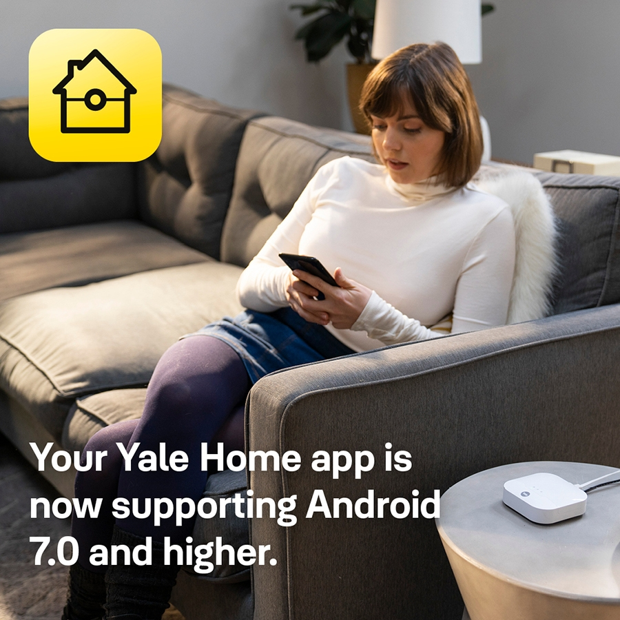 Yale Home app update