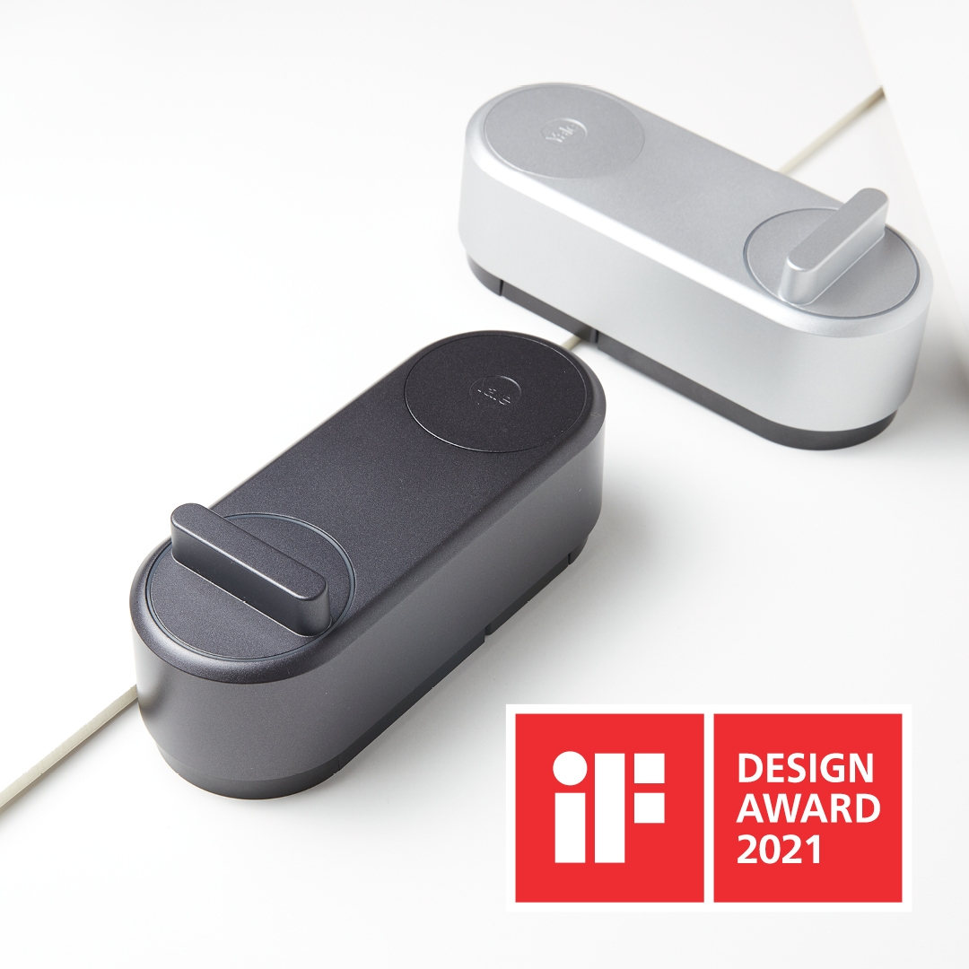 The Linus®Smart Lock wins the world-renowned iF Design Awards!