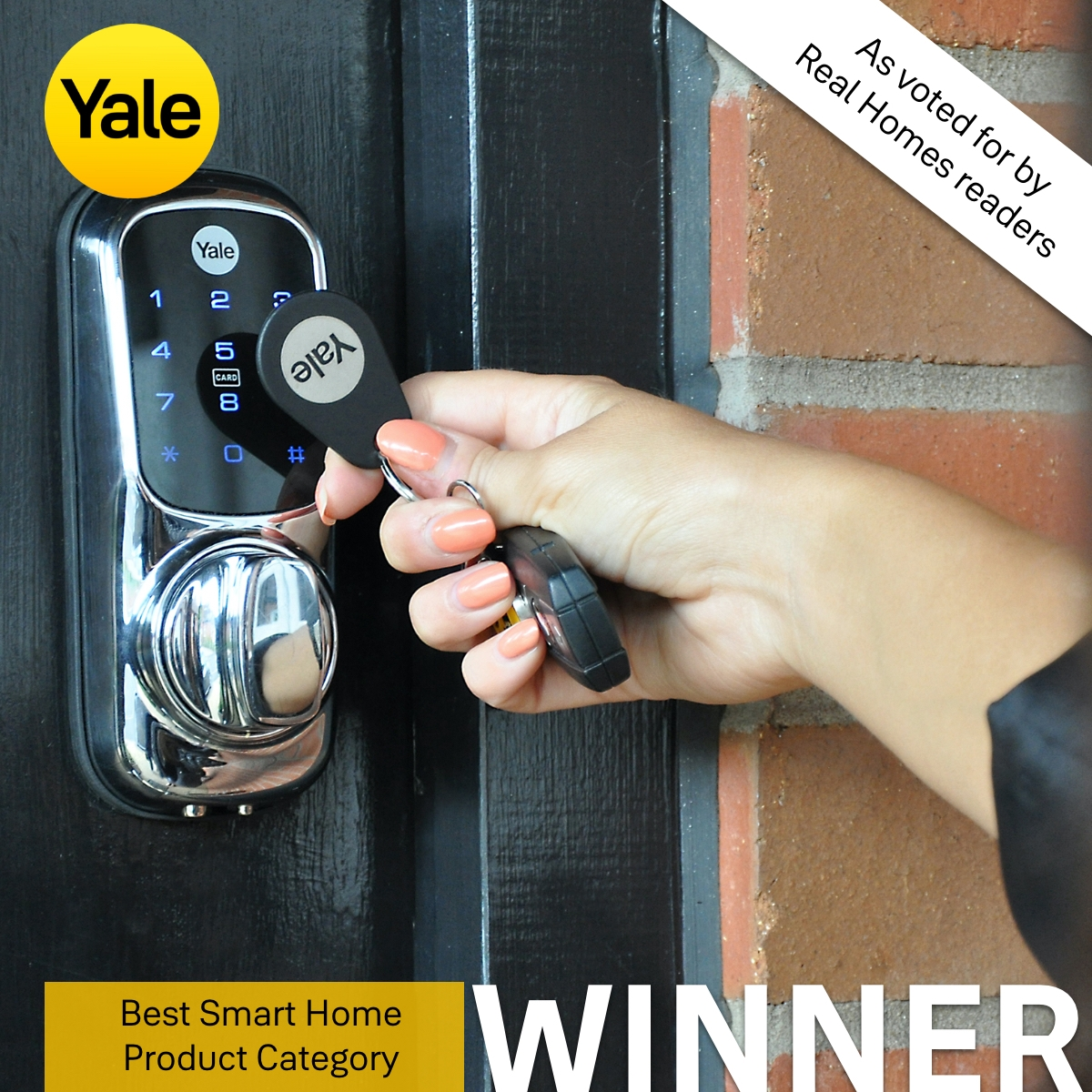 Keyless smart lock wins award