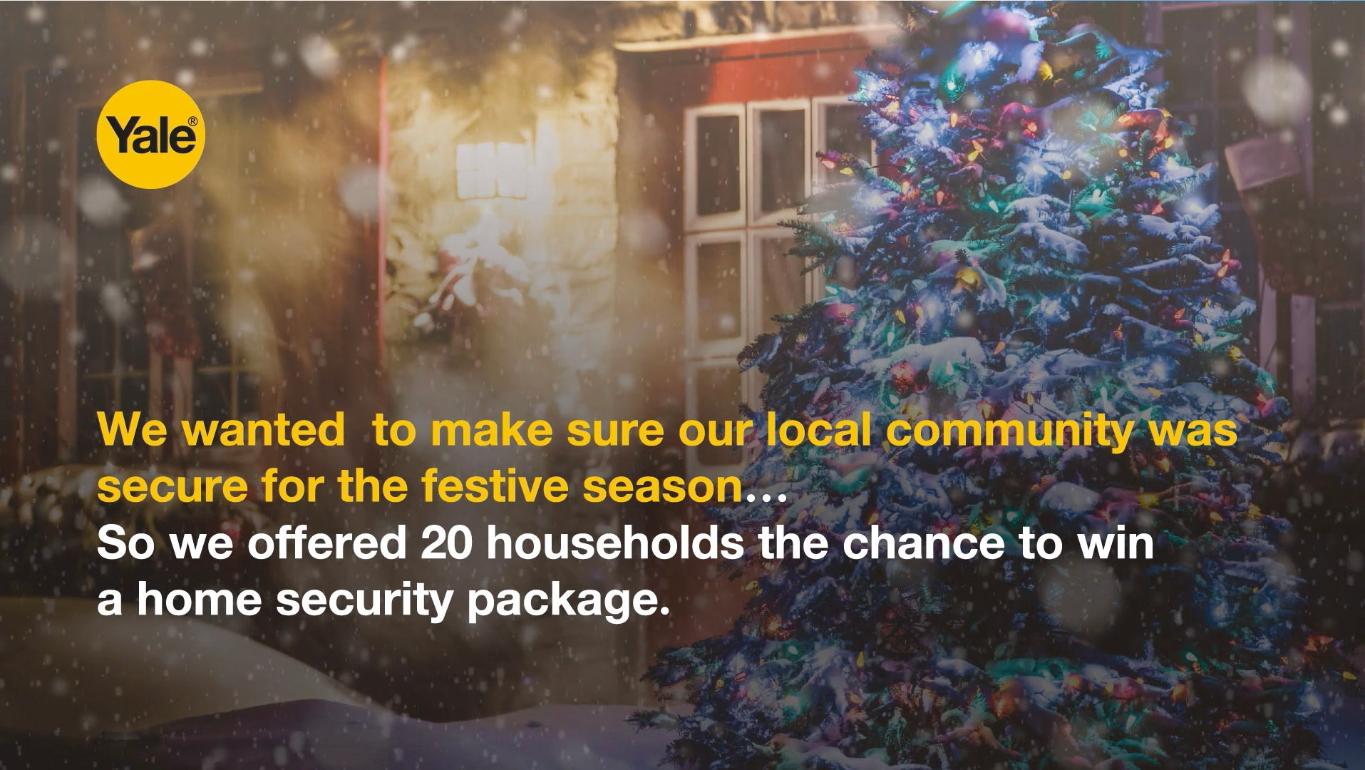 Giving the gift of security to our local community this Christmas