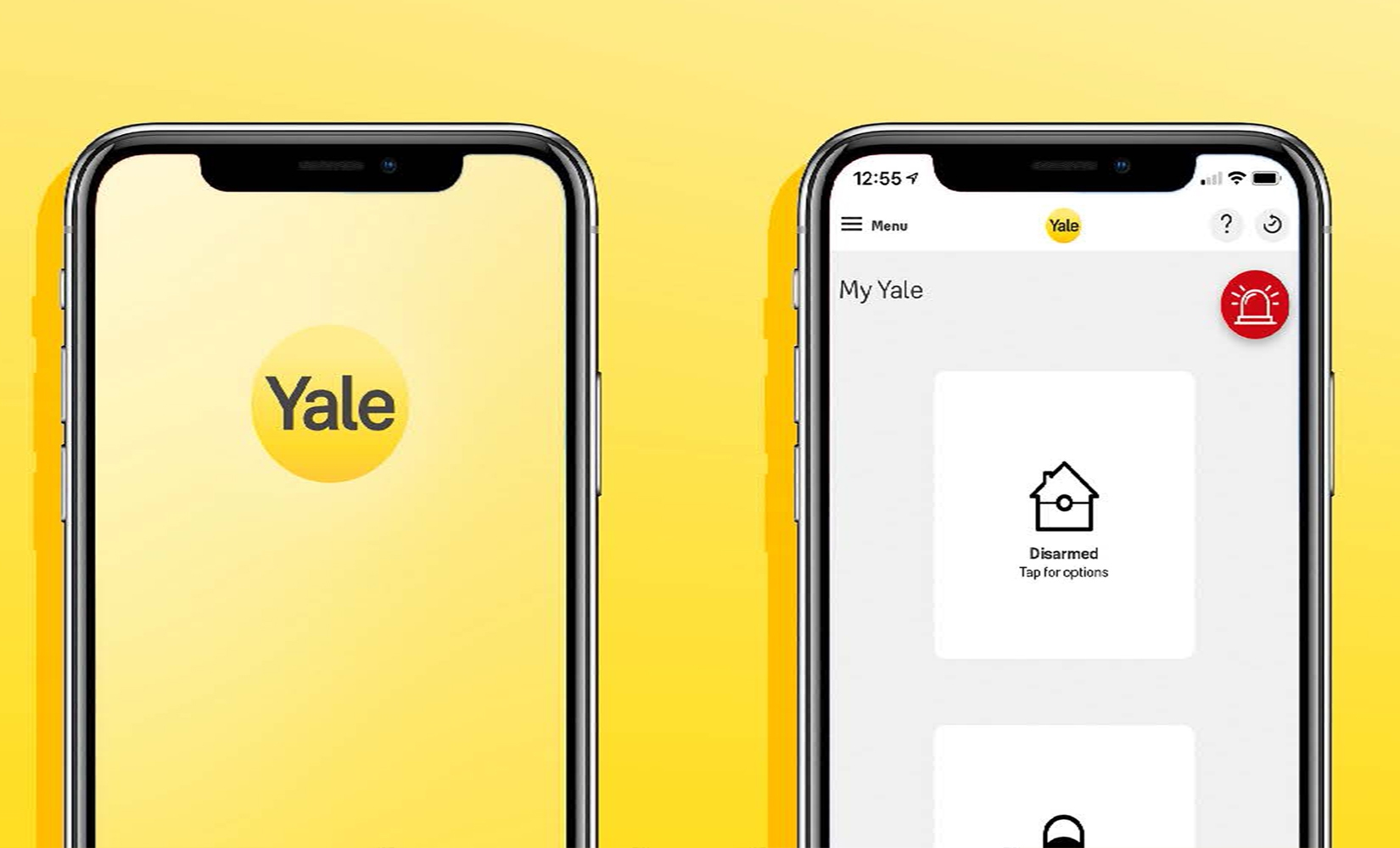 Yale Home App Update - 2020