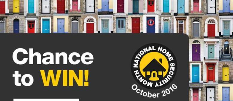 Chance to win with National Home Security Month