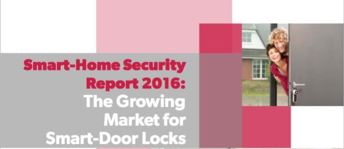 In collaboration with IFSEC Global ASSA ABLOY release the Smart Home Security Report 2016