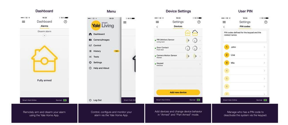 New Yale Smart Home Alarm app available now