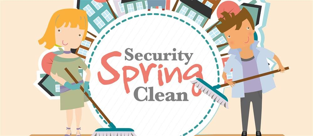 Spring Clean Your Home Security