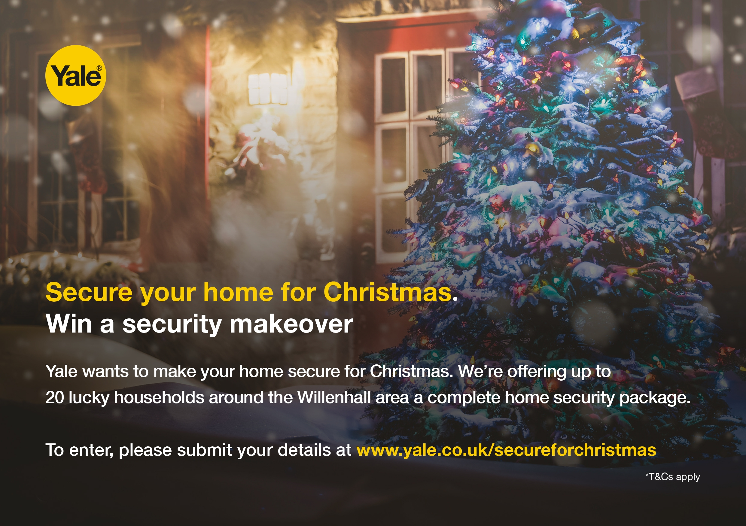 Secure Your Home For Christmas Giveaway