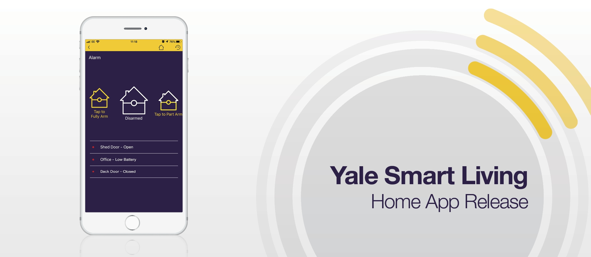 Smart Living Home App Update