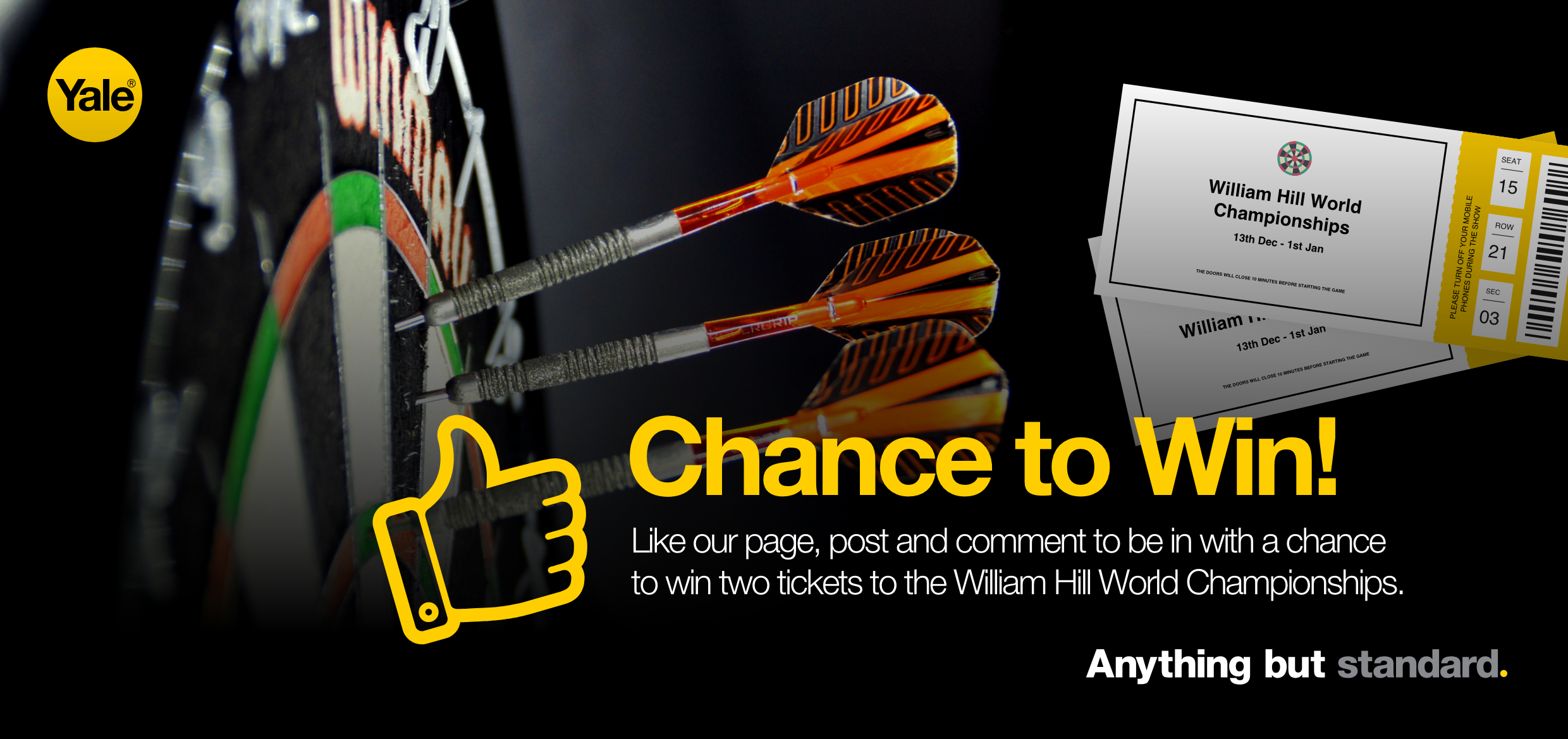 William Hill World Championships competition